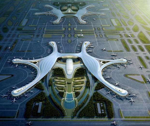 Futuro aeropuerto Chengdu.