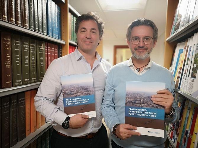 La Fundación Valenciaport entrega el Plan Maestro de Infraestructuras del Puerto de Buenos Aires - Empresa Exterior