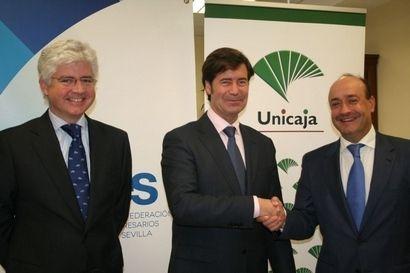 Unicaja banco y la confederaci n de empresarios de sevilla for Unicaja banco oficinas