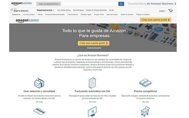 Amazon.es lanza Amazon Business | empresaexterior │Noticias del ...